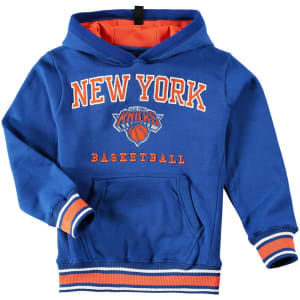New York Knicks UNK Youth Exclusive MVP Pullover Hoodie - Royal