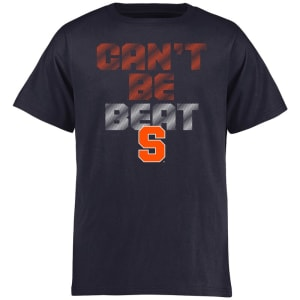 Syracuse Orange Youth Can't Be Beat T-Shirt - Navy