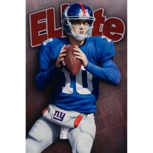 "Eli Manning New York Giants Deacon Jones Foundation 24"" x 36"" Elite Player Giclee Fine Art Print"