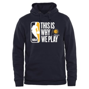 Indiana Pacers This Is Why We Play Pullover Hoodie - Navy
