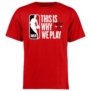 Chicago Bulls This Is Why We Play T-Shirt - Red
