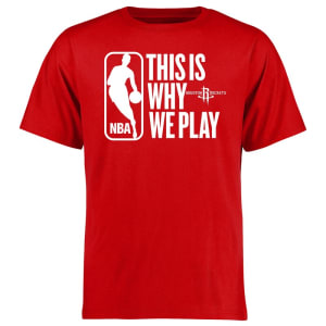 Houston Rockets This Is Why We Play T-Shirt - Red