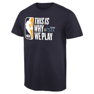 Utah Jazz This Is Why We Play T-Shirt - Navy