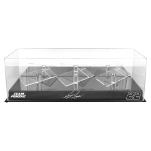 Joey Logano Fanatics Authentic #22 Team Penske 3 Car 1/24 Scale Die Cast Display Case With Platforms