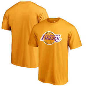 Los Angeles Lakers Primary Logo T-Shirt - Gold