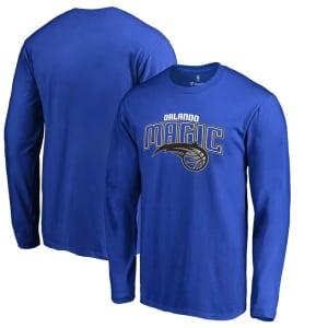 Orlando Magic Primary Logo Long Sleeve T-Shirt - Royal