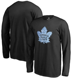 Toronto Maple Leafs Youth Pond Hockey Long Sleeve T-Shirt - Black