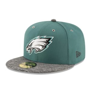 Philadelphia Eagles New Era On Stage 59FIFTY Fitted Hat - Green