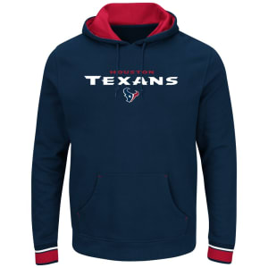 Houston Texans Majestic Championship Pullover Hoodie - Navy