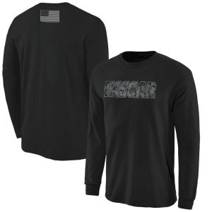 NASCAR Digi Camo Battallion Long Sleeve T-Shirt - Black