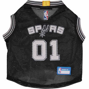 San Antonio Spurs Mesh Basketball Dog Jersey