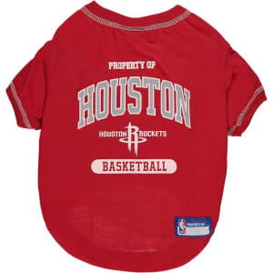 Houston Rockets Dog T-Shirt