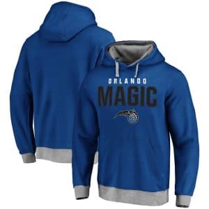 Orlando Magic Essentials Clean Color Logo Pullover Hoodie - Royal