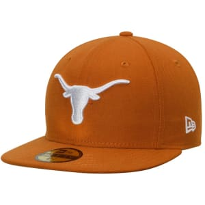 Texas Longhorns New Era Basic 59FIFTY Fitted Hat - Texas Orange