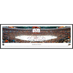 "Anaheim Ducks 40.25"" x 13.75"" Standard Framed Panoramic Photo"