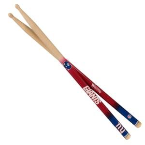 New York Giants Woodrow Guitar Drum Sticks