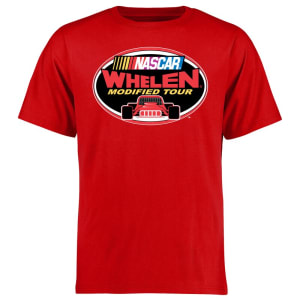 NASCAR Whelen Modified Tour Logo T-Shirt - Red