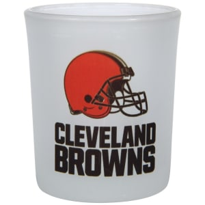 Cleveland Browns 4.5oz. Frosted Souvenir Glass