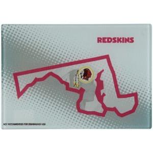 "Washington Redskins 8"" x 11.75"" State of Mind Cutting board"