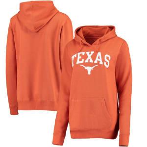Texas Longhorns Women's Arch Hoodie - Texas Orange