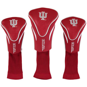 Indiana Hoosiers 3-Pack Contour Golf Club Head Covers