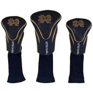 Notre Dame Fighting Irish 3-Pack Contour Golf Club Head Covers