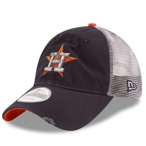 Houston Astros New Era Team Rustic 9TWENTY Snapback Adjustable Hat - Navy