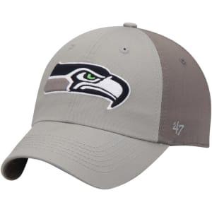 Seattle Seahawks '47 Northside Clean Up Adjustable Hat - Gray/Dark Gray