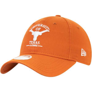 Texas Longhorns New Era Women's Spirited Adjustable Hat - Texas Orange