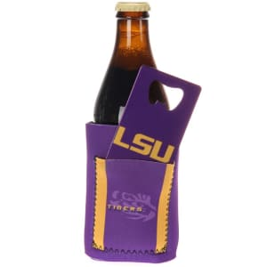 LSU Tigers Can Insulator with Pocket & Opener