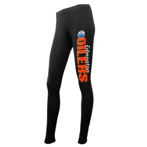 Edmonton Oilers Concepts Sport Women's Solid Leggings - Black