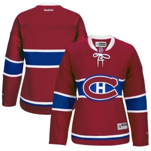 Montreal Canadiens Reebok Women's Premier Home Jersey - Red