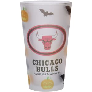 Chicago Bulls 16oz. Halloween Frosted Pint Glass