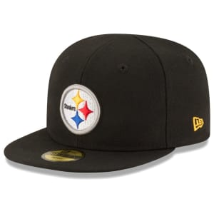 Pittsburgh Steelers New Era Infant My 1st 59FIFTY Fitted Hat - Black
