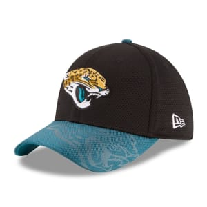 Jacksonville Jaguars New Era 2016 Sideline Official 39THIRTY Flex Hat - Black