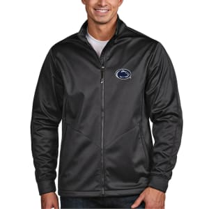 Penn State Nittany Lions Antigua Golf Full-Zip Jacket - Charcoal