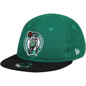 Boston Celtics New Era Infant Current Logo My 1st 9FIFTY Snapback Adjustable Hat - Kelly Green