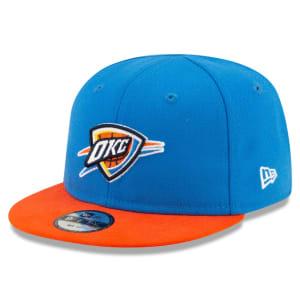 Oklahoma City Thunder New Era Infant Current Logo My 1st 9FIFTY Snapback Adjustable Hat - Blue
