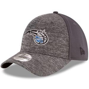Orlando Magic New Era Shadowed Team 39THIRTY Flex Hat - Heathered Gray/Graphite