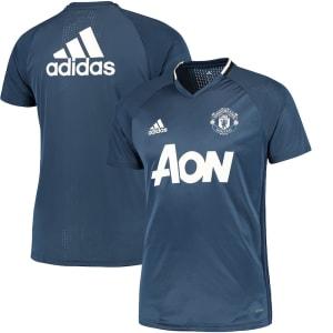 Manchester United adidas 2016/17 Training Jersey - Blue