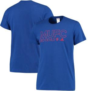 Manchester United adidas Core T-Shirt - Royal