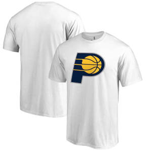 Indiana Pacers Fanatics Branded Primary Logo T-Shirt - White