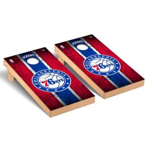 Philadelphia 76ers 2' x 4' Vintage New Cornhole Set