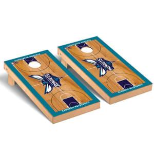 Charlotte Hornets 2' x 4' Court Cornhole Game Set