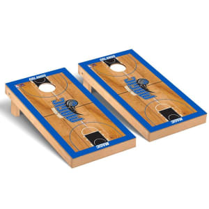 Orlando Magic 2' x 4' Court Museum Cornhole Board Tailgate Toss Set