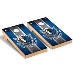 Dallas Mavericks 2' x 4' Vintage Museum Cornhole Board Tailgate Toss Set