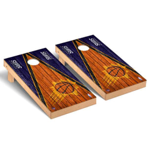 Phoenix Suns 2' x 4' Weathered Museum Cornhole Board Tailgate Toss Set