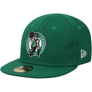 Boston Celtics New Era Infant Current Logo My 1st 59FIFTY Fitted Hat - Kelly Green