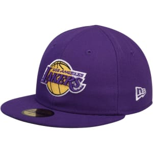 Los Angeles Lakers New Era Infant Current Logo My 1st 59FIFTY Fitted Hat - Purple