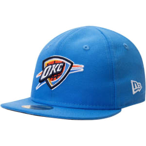 Oklahoma City Thunder New Era Infant Current Logo My 1st 59FIFTY Fitted Hat - Blue
